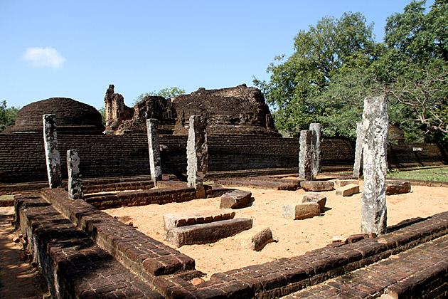 Southern Ruins Polonnaruwa