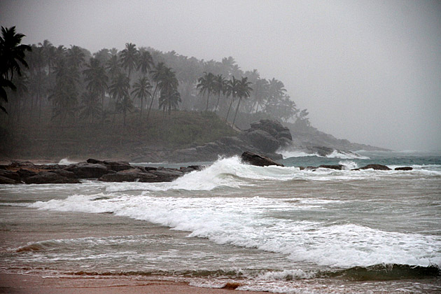 Storm in Sri Lanka