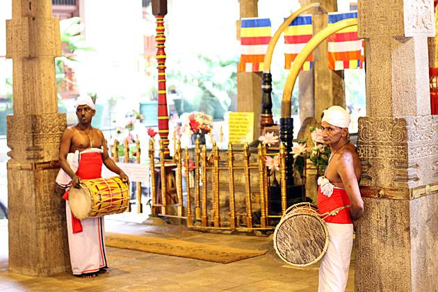 Temple Drummer