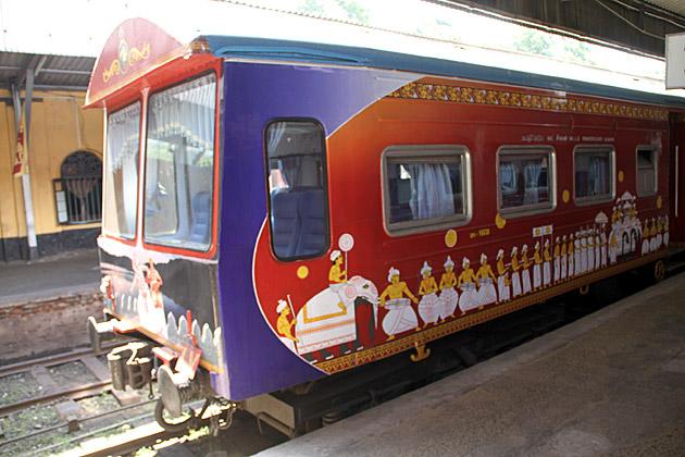 First Class Train Sri Lanka