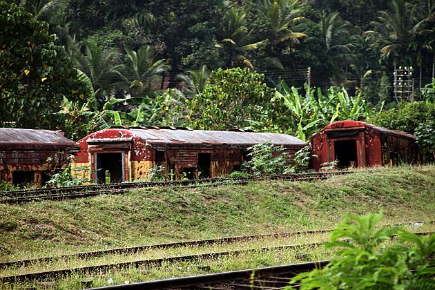 Sri Lanka Train Wreck