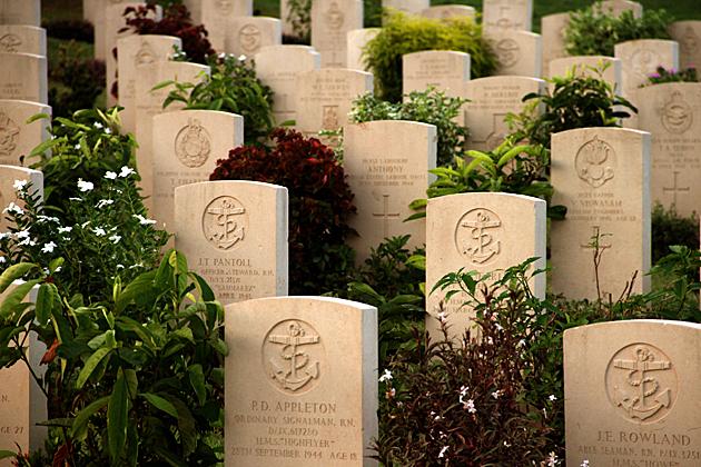 British Cemetery in Trincomalee