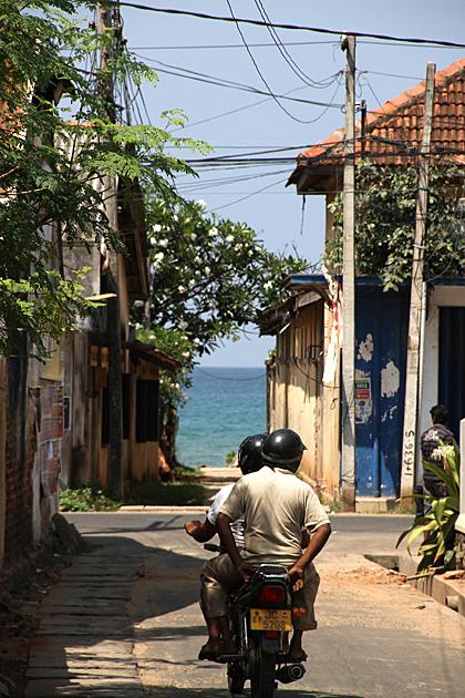Mopeds in Sri Lanka