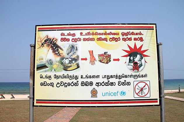 Sri Lanka Health Warning