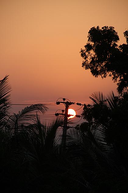 Sunset Trincomalee