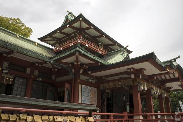Fukagawas Fudo-do Temple and Tomioka Hachiman Shrine