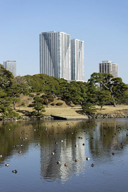 Hamarikyu Detached Palace Gardens