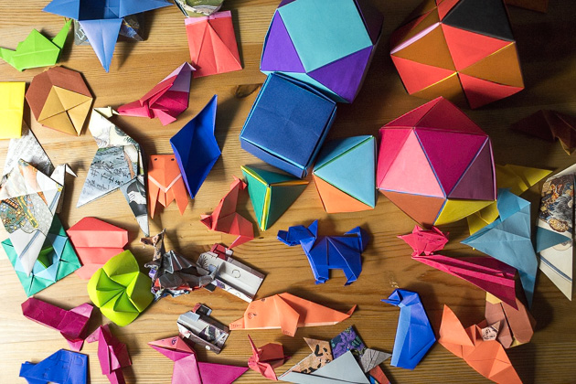 folding paper at the origami kaikan � tokyo for 91 days