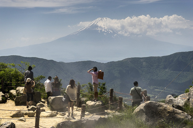 Getting To Mount Fuji