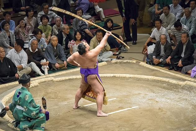Sumo Summer Tournament 2014 Tokyo