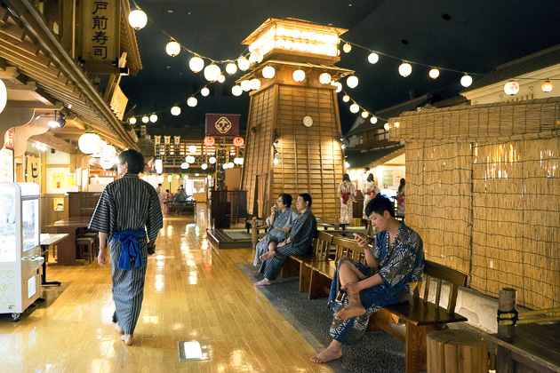 The Ooedo Onsen Monogatari Spa