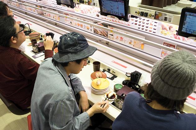 Uobei  Automated Sushi Restaurant