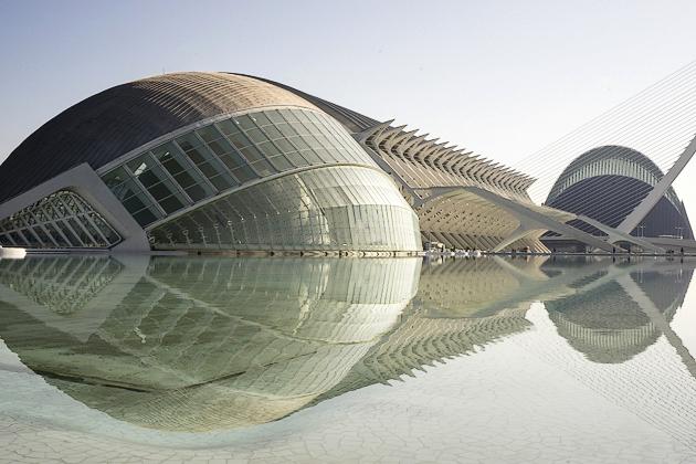 Ciudad de las artes y ciencias Valencia