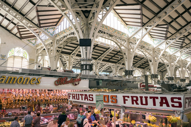 The Mercado Central - Valencia For 91 Days