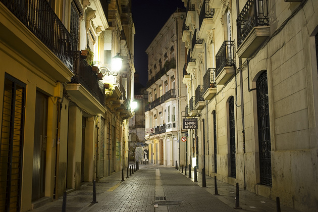 Valencia At Night