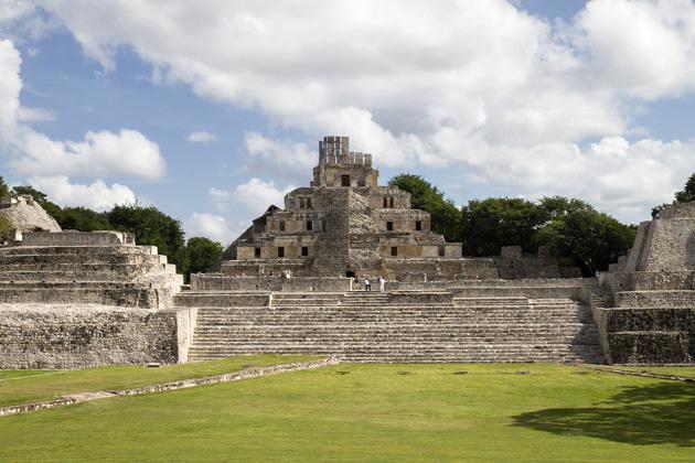 Edzna Maya Ruins