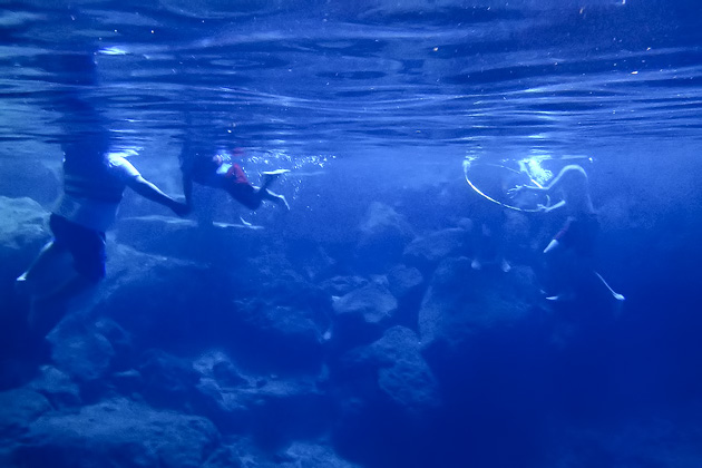 Three Cenotes of Chunkanán