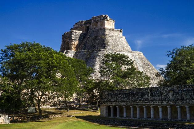 Uxmal Maya Ruins