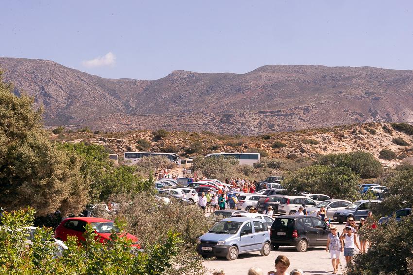 Masses Of People Elafonisi