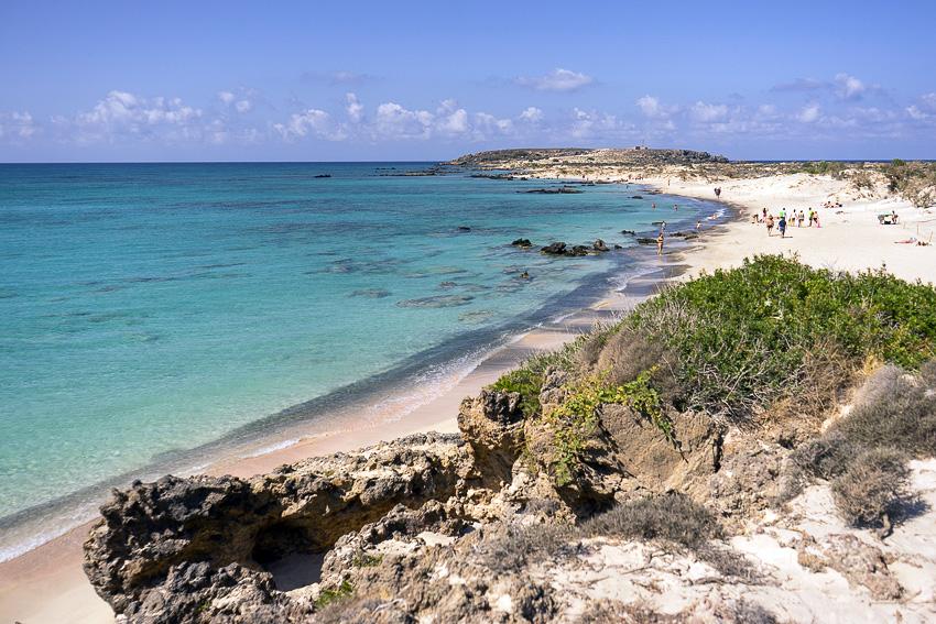 Pink Sand Beach Crete