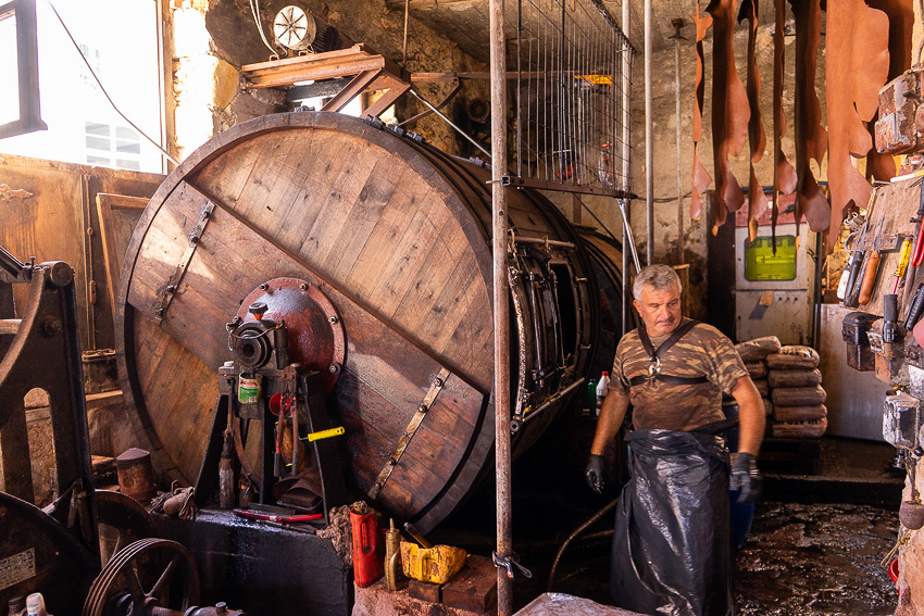 Traditional Leather Processing Workshops Near Chania