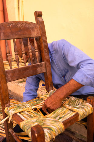 Chair Maker Chania Crete