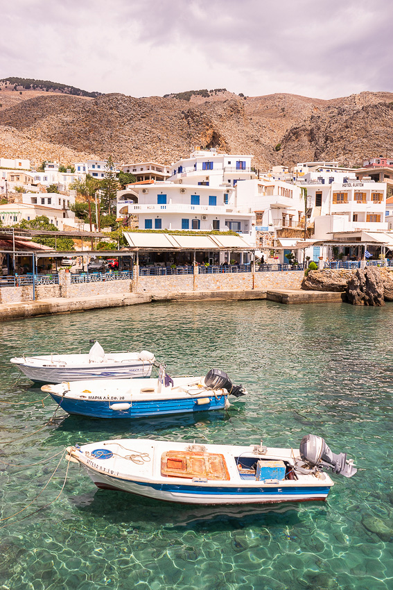 Villages of Loutro & Chora Sfakion - For 91 Days Travel Blog