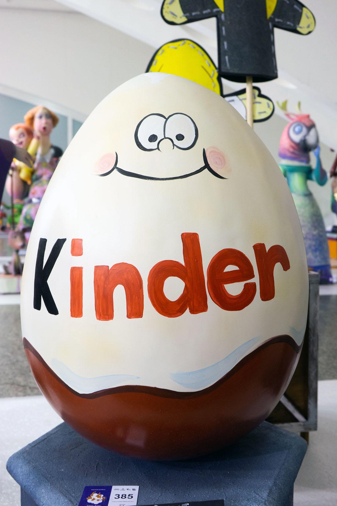 Kinderei Egg Kinder Ninot