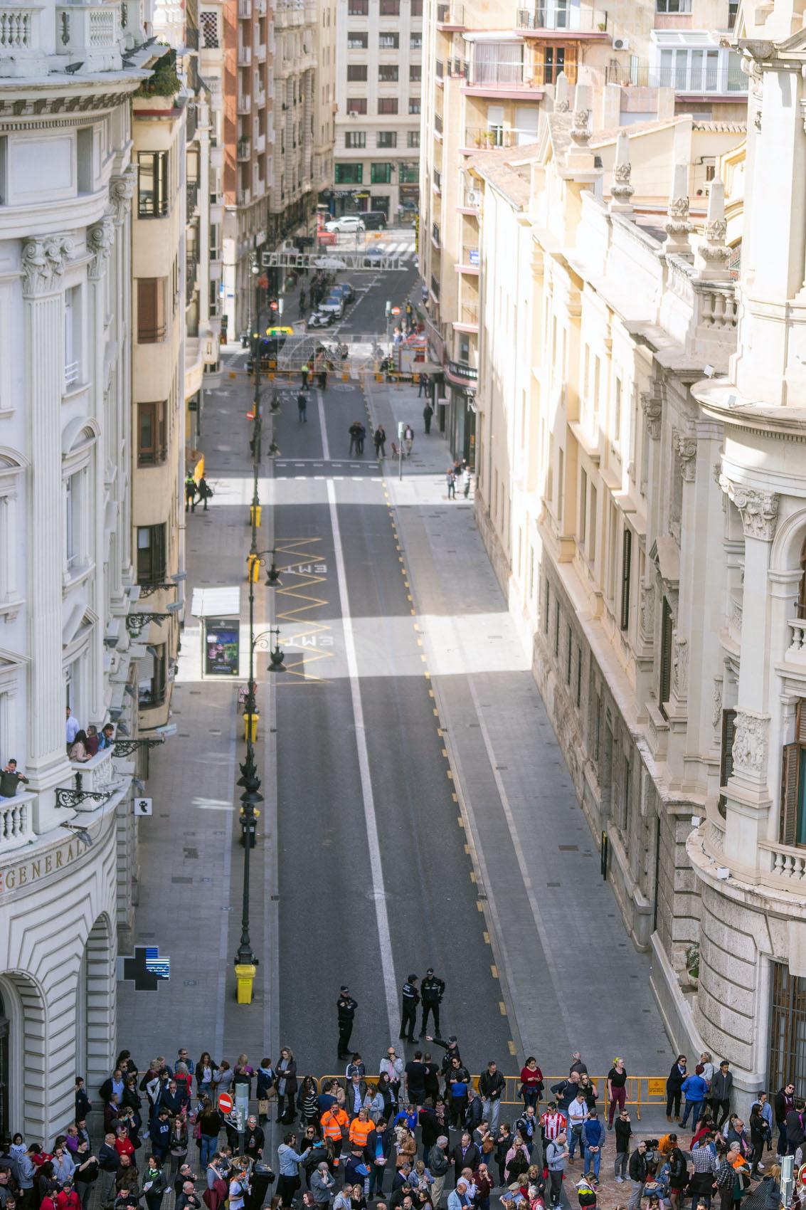 Empty Streets Valencia