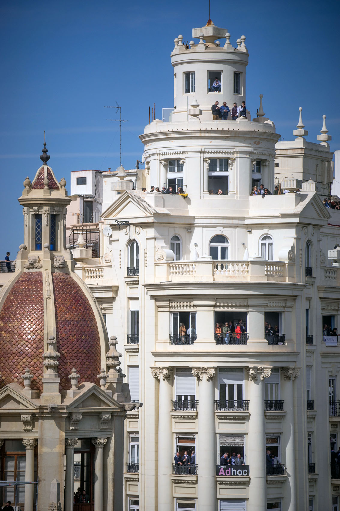 Balcony Mascleta Fallas