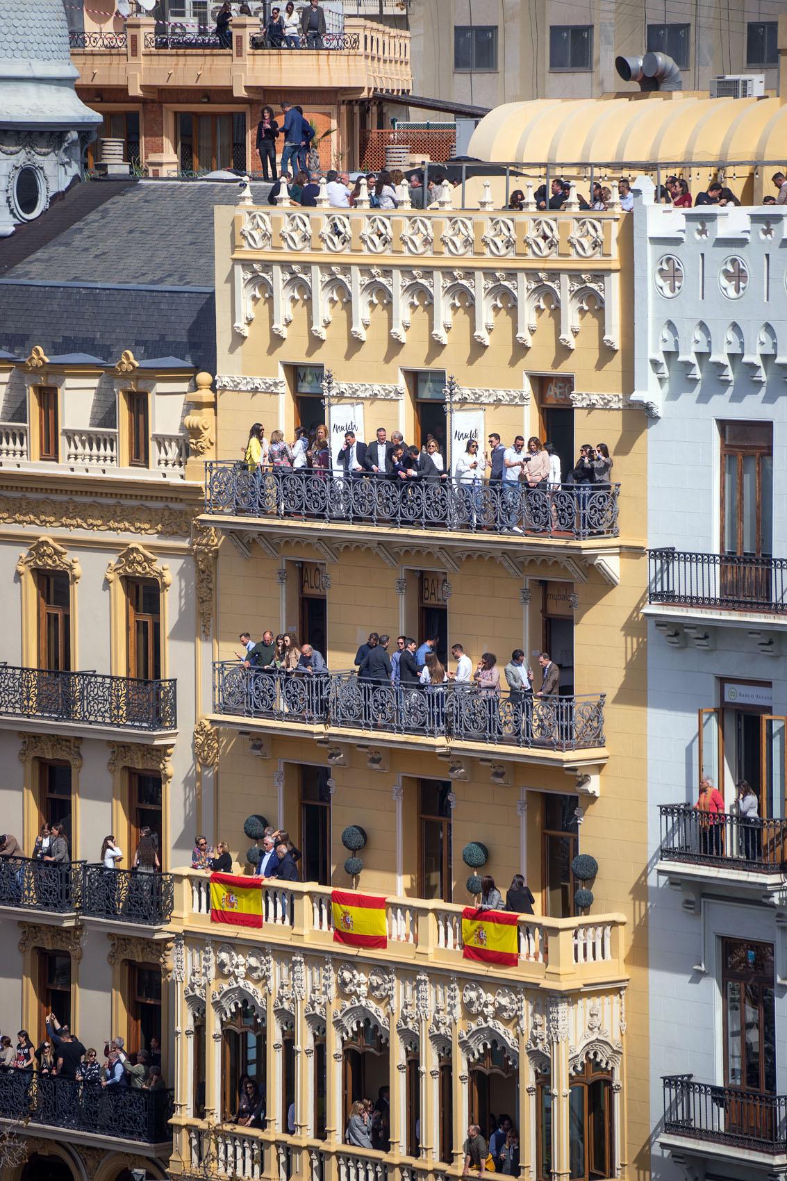 Mascleta VIP Balcony