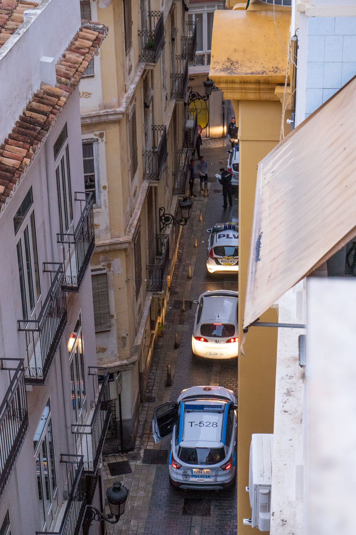 Police Spain Covid19
