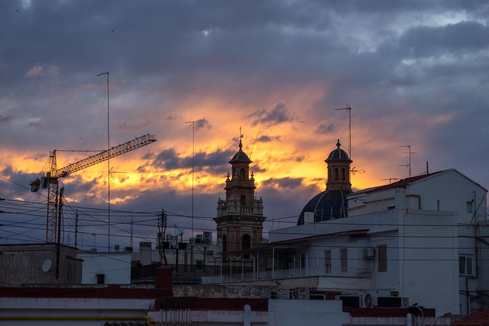 quarantine sunset Valencia
