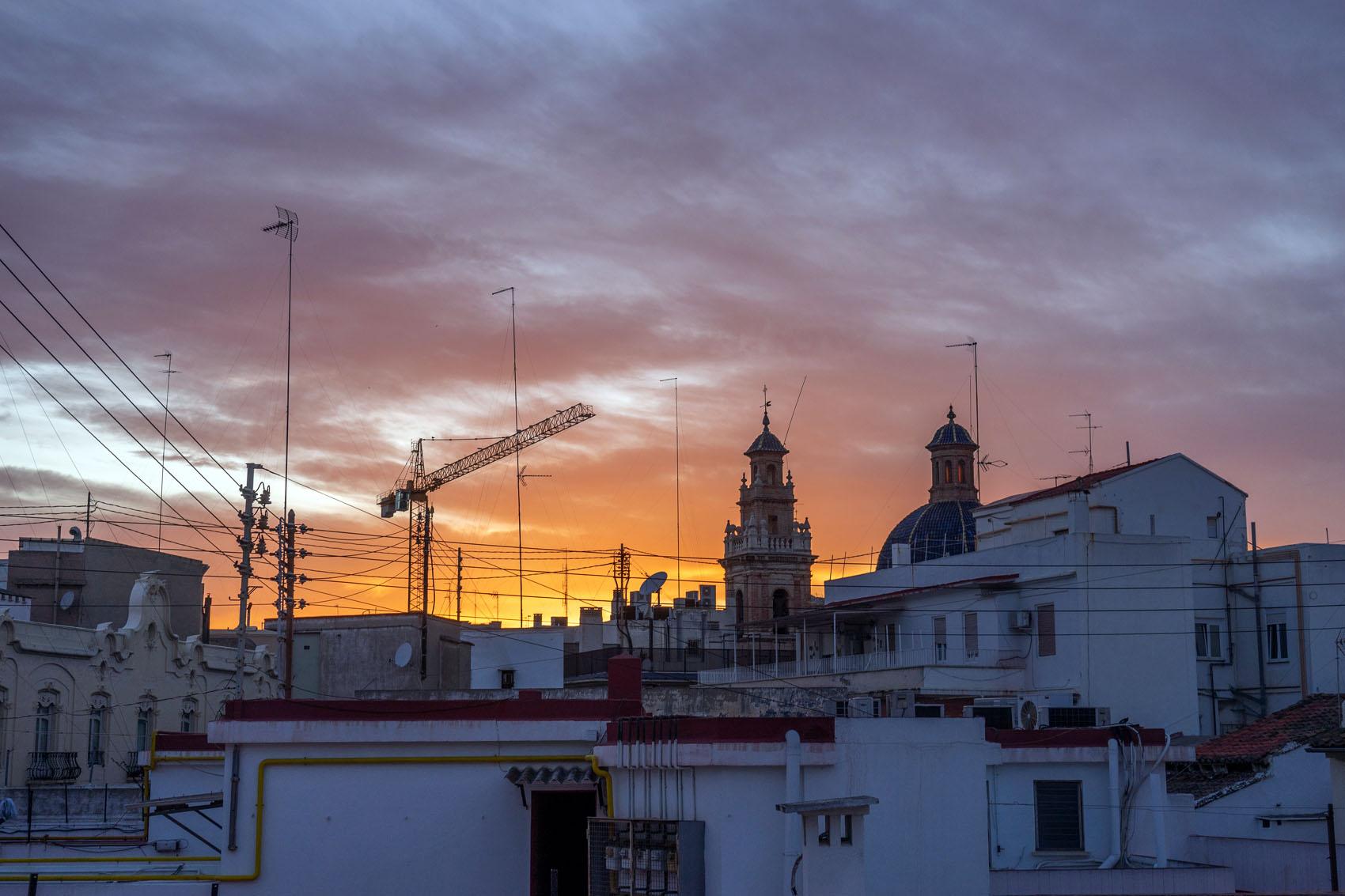 Valencia Sunset