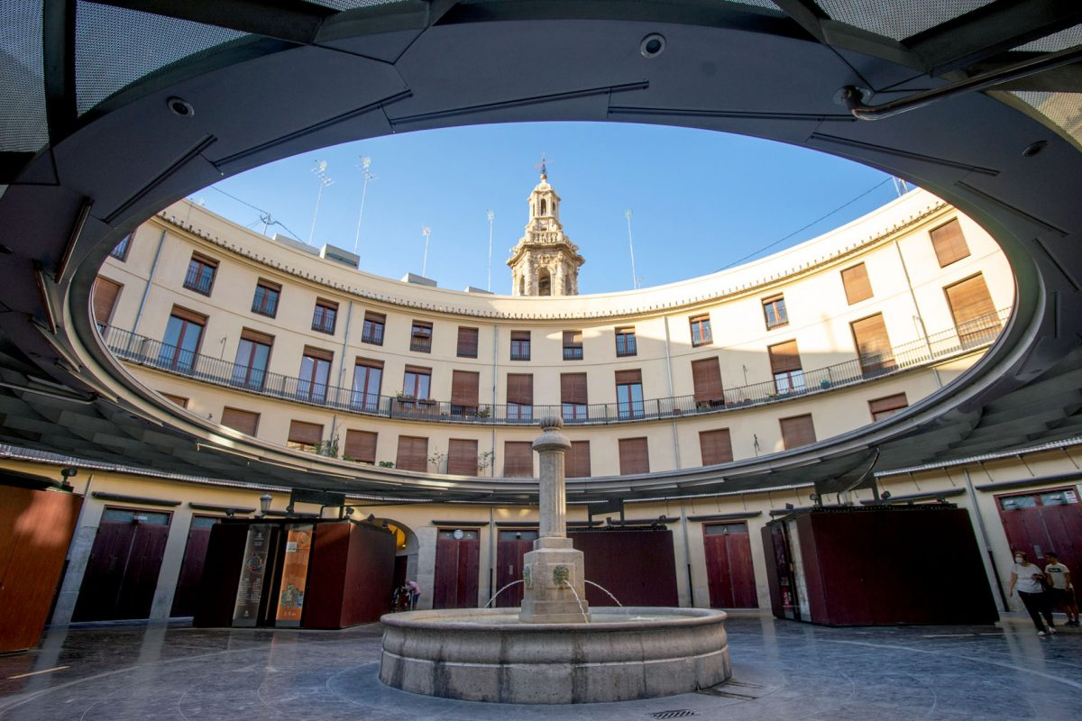 Plaza Redonda Valencia Photo