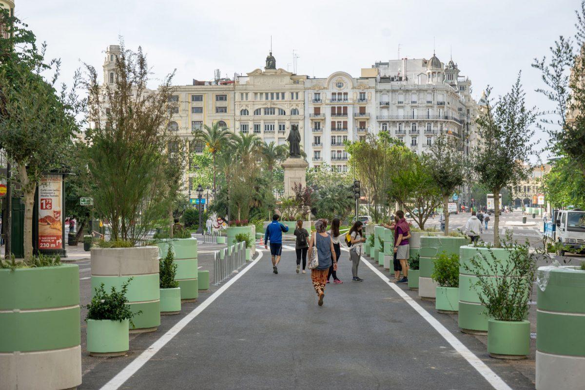 New Plaza del Ayuntamiento Valencia