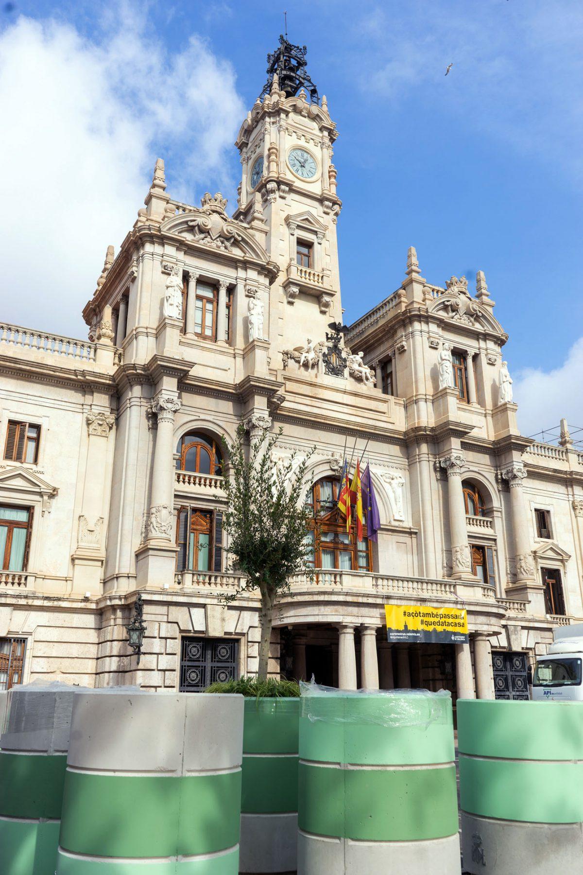 Valencia Rathaus - Lizens