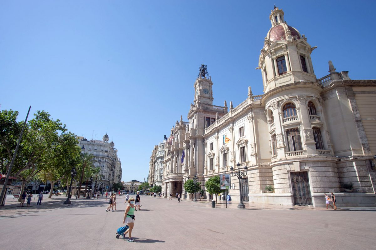 Nueva Plaza del Ayuntamiento Valencia