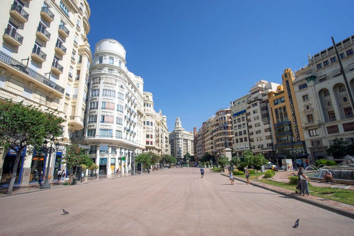 Buy License Valencia New Plaza del Ayuntamiento