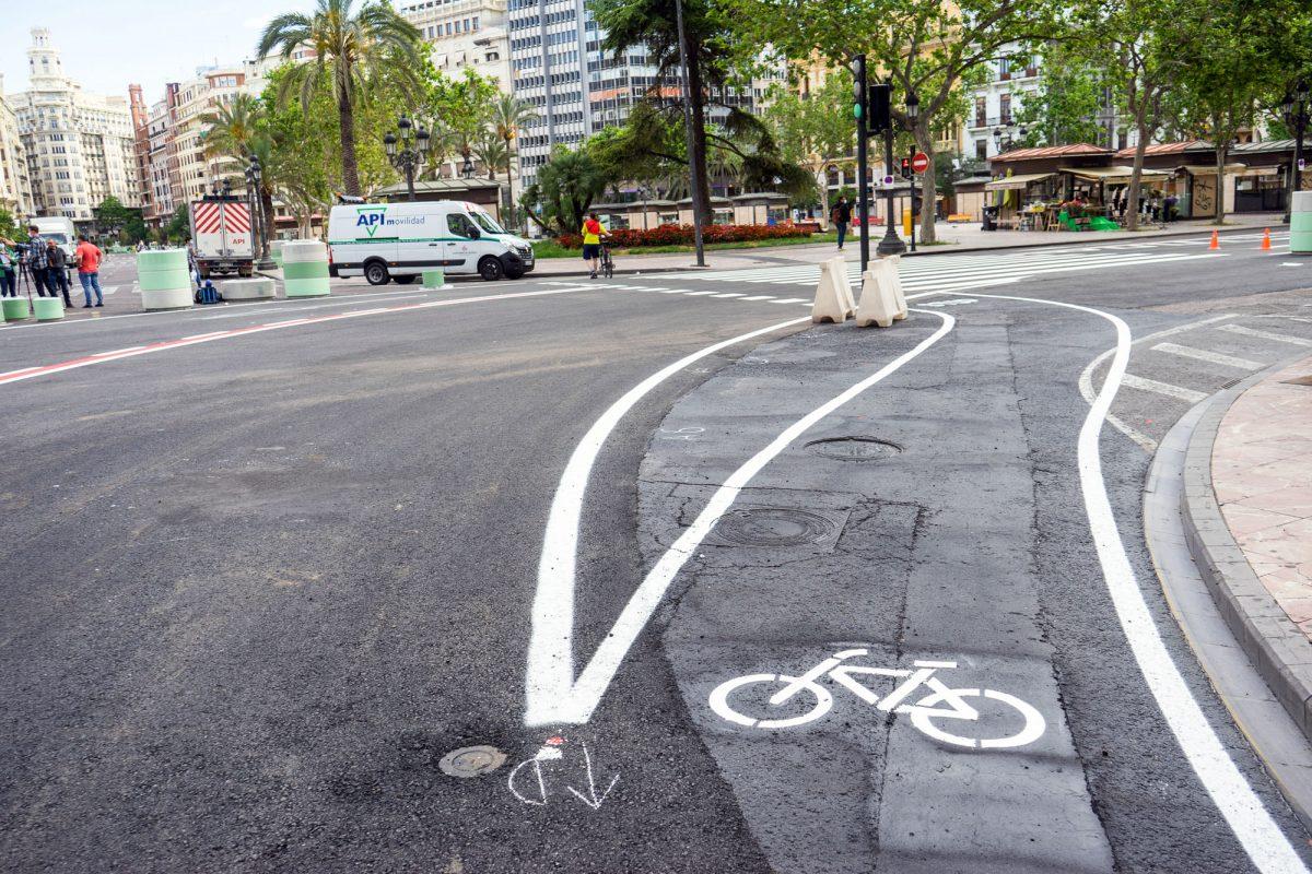 Valencia Spain Bike Paths
