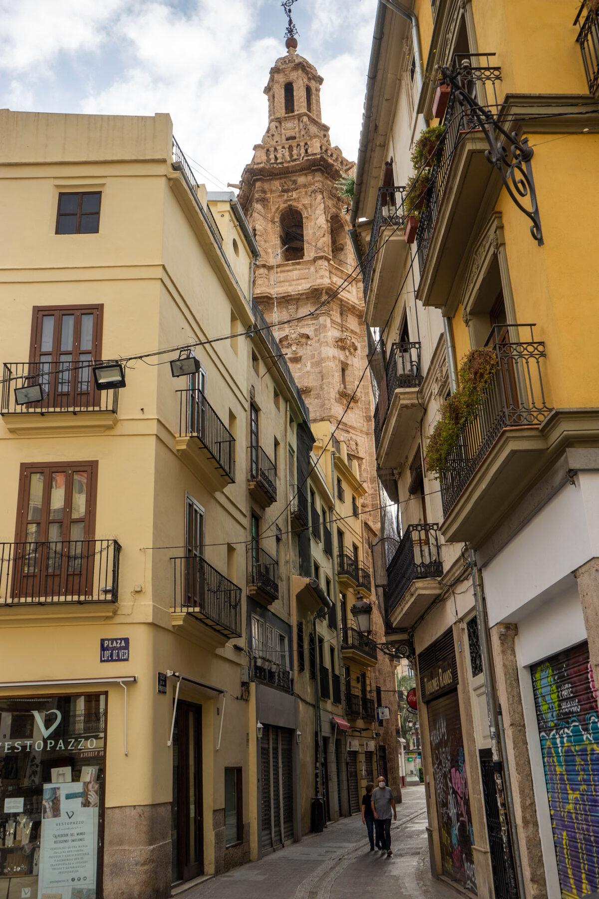 Santa Catalina Bell Tower Valencia