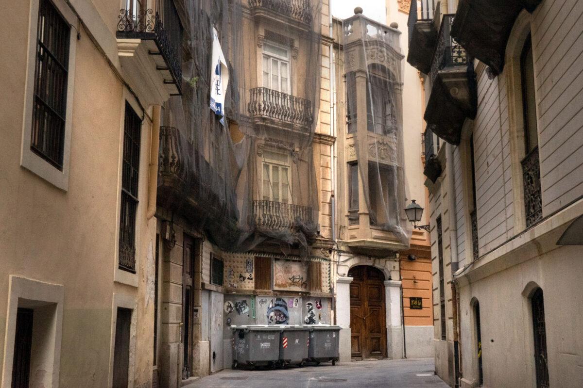 Geisterstadt Valencia Spanien
