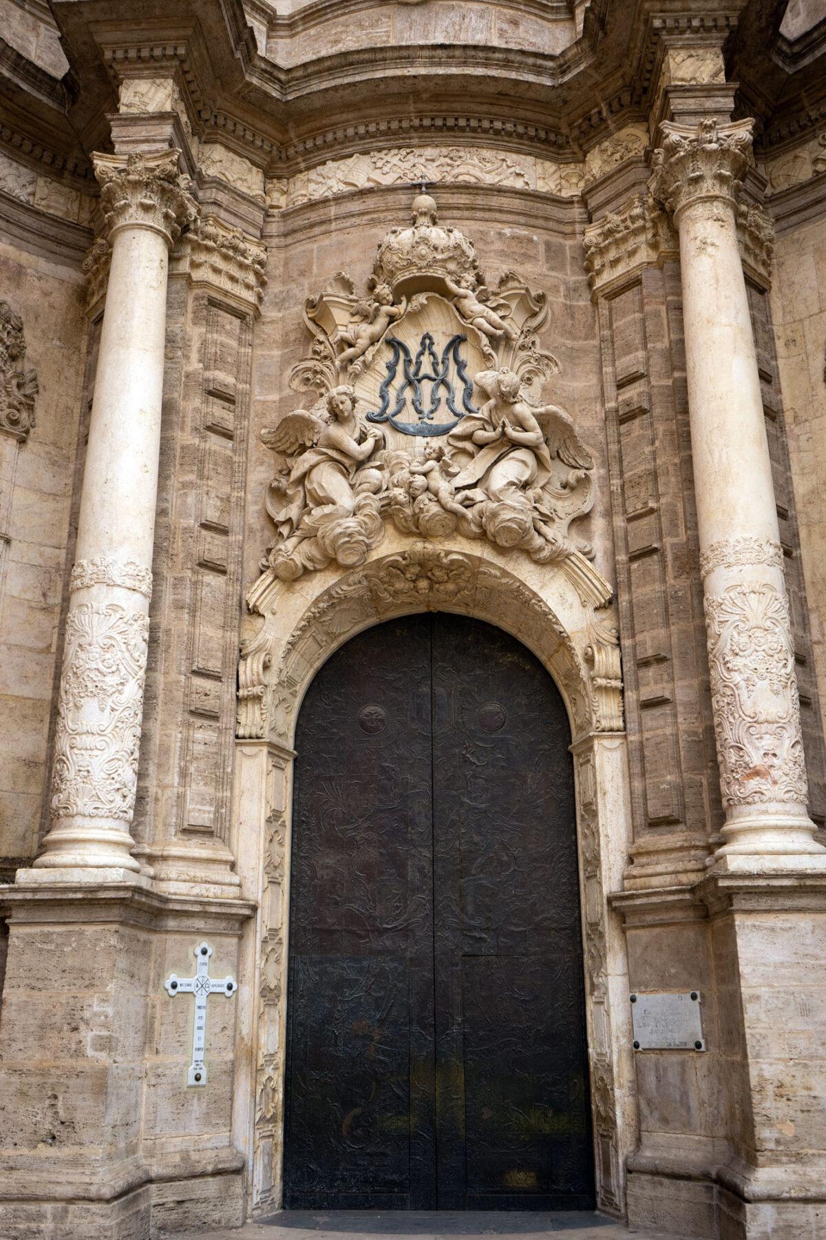 Main Entrance Cathedral Valencia