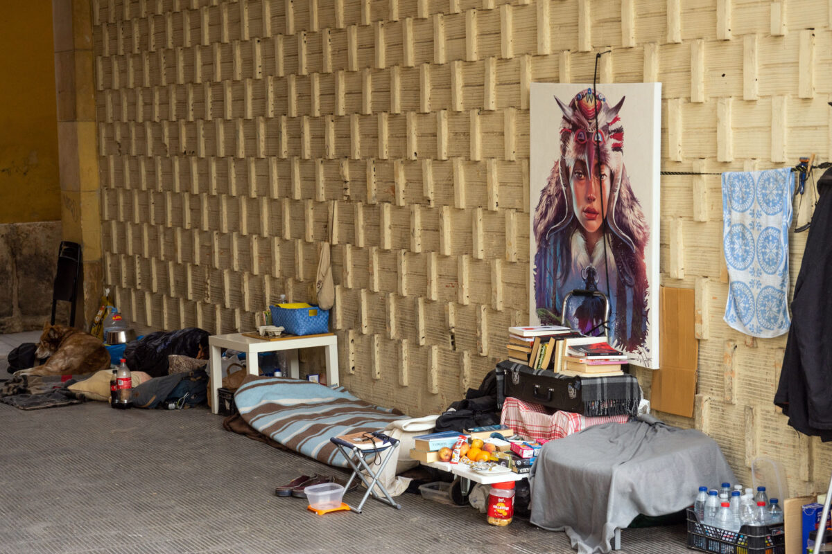 Homeless In Valencia