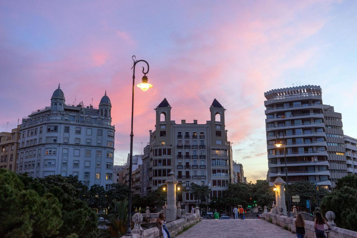Sunset Canovas Valencia