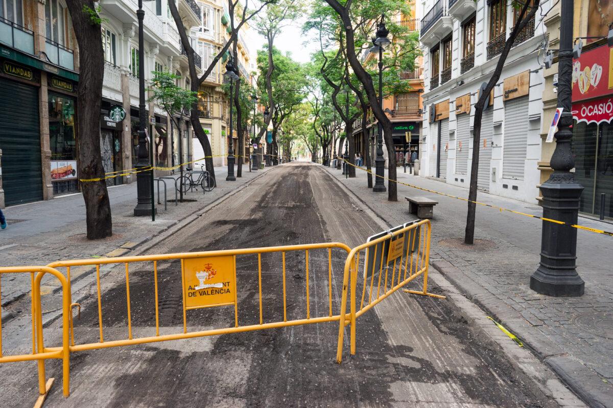 Calle Vicente Ferrer Valencia