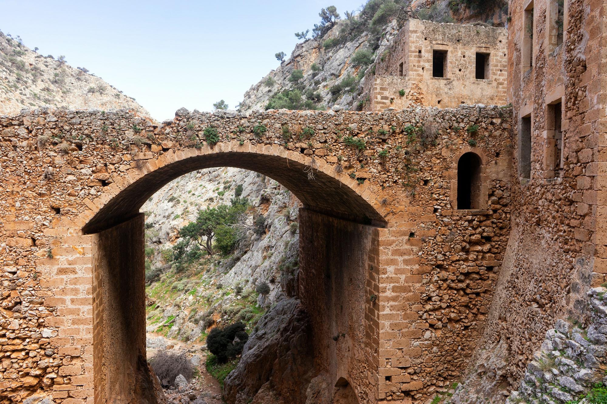 Πέτρινη Γέφυρα της Μονής Καθολικού