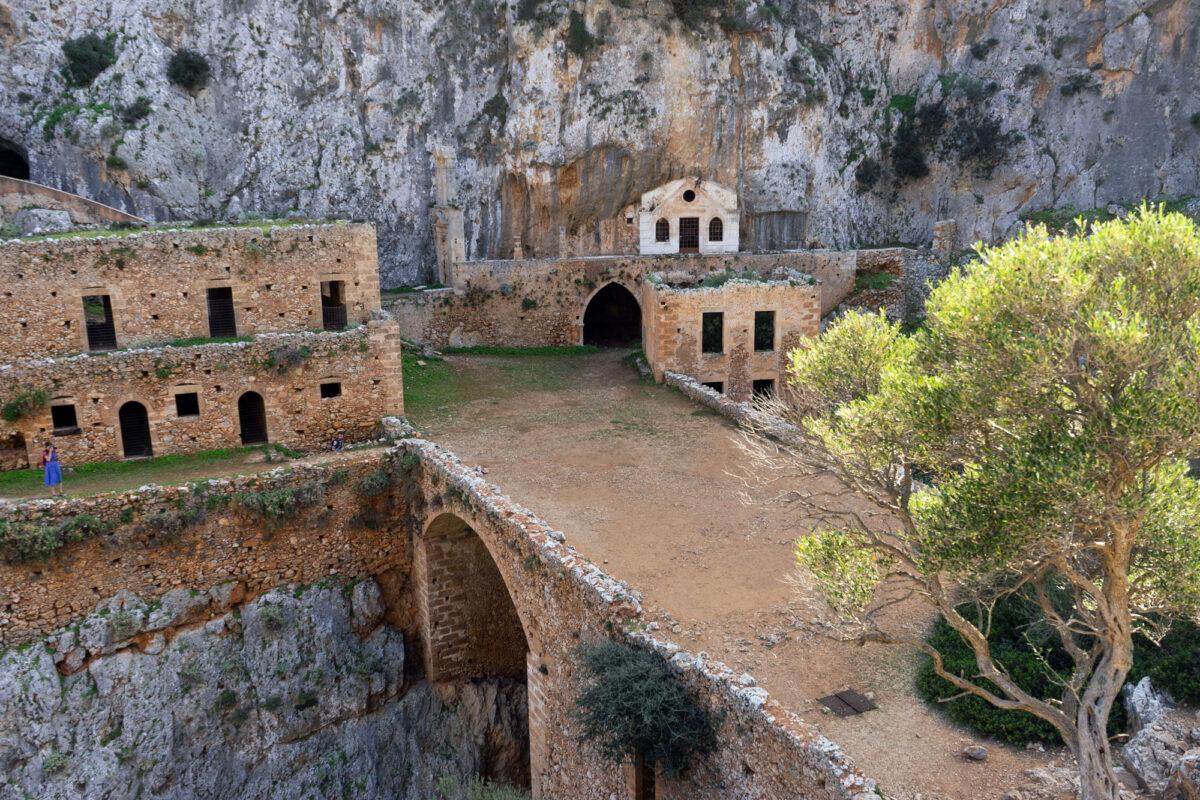 Monastery Katholiko Crete