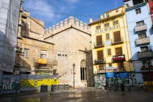 Ghost Town Valencia Covid-19