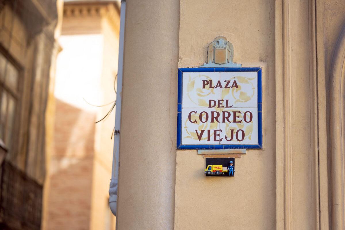 Playmobil Street Sign Valencia